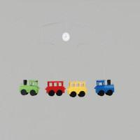 Závesná dekorácia Flensted Vláčik-Locomobile