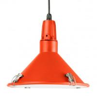 Závesná lampa Leitmotiv INSIDE OUT oranžová