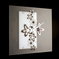 Nástenné hodiny I076W IncantesimoDesign 44cm