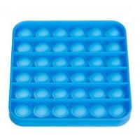 Antistresová senzorická podložka Push Pop Bubble Iso 5555, modrá