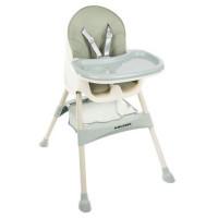 Jedálenská stolička Kruzzel 2059, svetlozelená