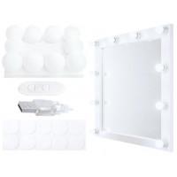 LED zrkadlové svietidlá iso0529, biele