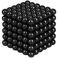 Magnetické guličky Neocube 216 ks. 5mm - čierne