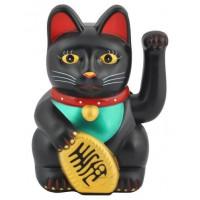 Čínska mačka šťastia čierna ISO3065