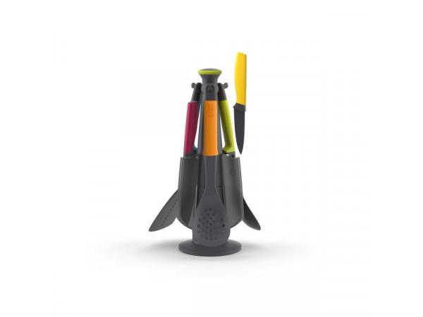 Rotačný stojan s kuchynskými nástrojmi a nožmi JOSEPH JOSEPH Elevate ™