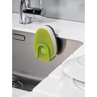 Sada 3 hubiek s dávkovačom saponátu JOSEPH JOSEPH Soapy-Sponge ™, zelená
