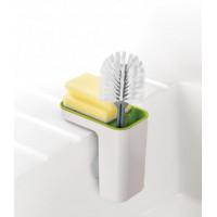 Stojanček na umývacie prostriedky JOSEPH JOSEPH Sink Pod ™, biely-zelený