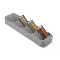 Kompaktné priehradky na koreničky JOSEPH JOSEPH DrawerStore ™, sivé