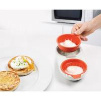 Misky na stratené vajcia JOSEPH JOSEPH M-Cuisine ™ Microwave Egg Poacher
