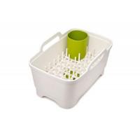 Umývacia nádoba s odkvapkávačom JOSEPH JOSEPH Wash & Drain ™ Plus, biela