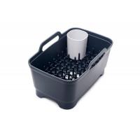 Umývacia nádoba s odkvapkávačom JOSEPH JOSEPH Wash & Drain ™ Plus, šedá