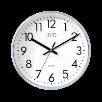Nástenné hodiny JVD HA43.1 strieborné, 33cm