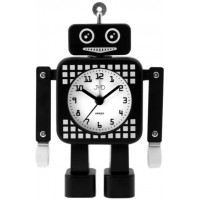 Tichý netikajúcí detský budík JVD ROBOT SRP2304.3, 16cm