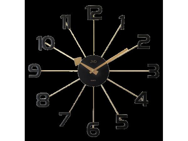 Dizajnové nástenné hodiny JVD HT072.2, 49cm