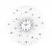 Nástenné hodiny dizajn JVD HJ66 80cm