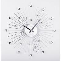 Dizajnové nástenné hodiny JVD HT071, 49cm