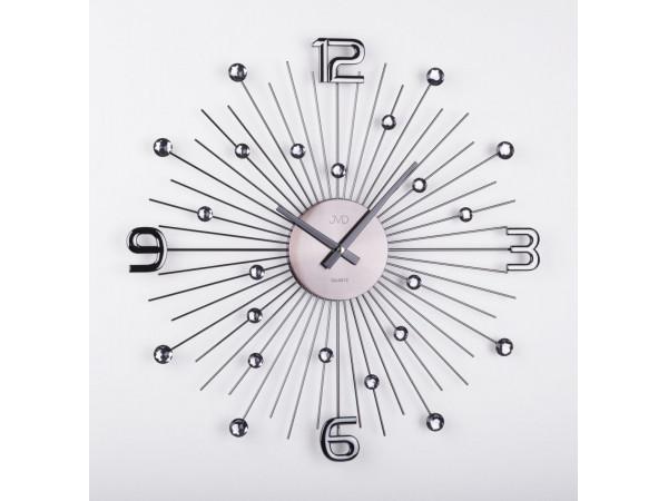 Crystal nástenné hodiny JVD HT074.2, antracit 49 cm