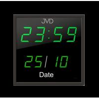 Digitálne nástenné hodiny JVD DH41.1, 28cm