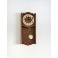Drevené nástenné hodiny ASSO A17/215/4, 53 cm