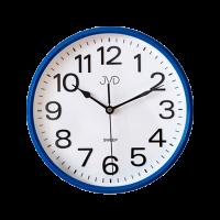 Nástenné hodiny JVD HP683,3 modré, sweep