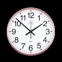 Nástenné hodiny JVD HP684.3 Rosé, sweep, 31cm
