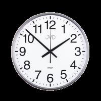 Nástenné hodiny JVD HP684.2 šedé, sweep, 31cm