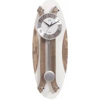 Dizajnové kyvadlové nástenné hodiny JVD NS18012/78, 59cm