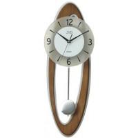 Dizajnové kyvadlové nástenné hodiny JVD NS18053/11, 60cm