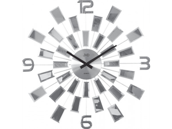 Luxusné zrkadlové hodiny JVD HT100.1, 50cm