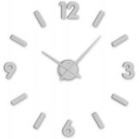 Nástenné nalepovacie hodiny JVD HC20.1, strieborné