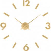 Nástenné nalepovacie hodiny JVD HC31.1 imitácia dreva