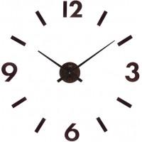 Nástenné nalepovacie hodiny JVD HC31.2 imitácia dreva