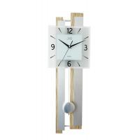 Drevené kyvadlové hodiny JVD NS19033 s plynulým chodom, 70cm
