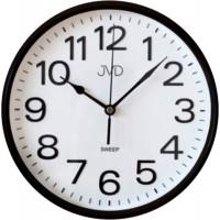 Nástenné hodiny JVD HP683,5 hnedé, sweep, 26cm