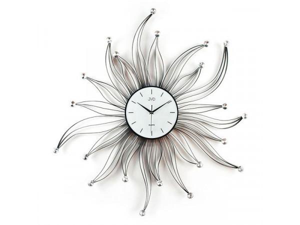Nástenné designové hodiny JVD HJ05 Kvet 80 cm