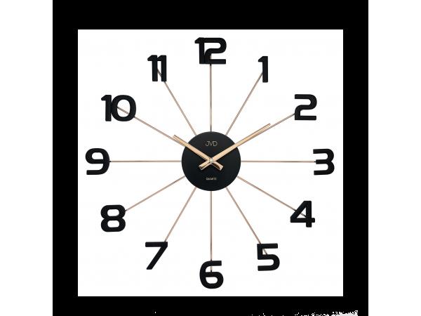 Dizajnové nástenné hodiny JVD HT072.3, 49cm