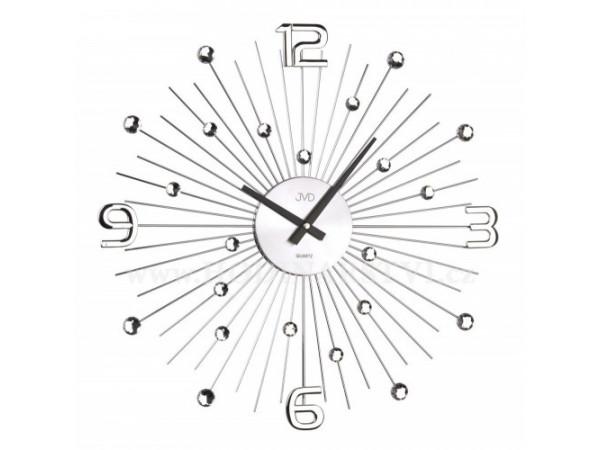 Crystal nástenné hodiny JVD HT074 49 cm