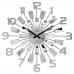Luxusné zrkadlové hodiny JVD HT100.3, 50cm