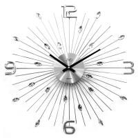 Crystal nástenné hodiny JVD HT104 49 cm
