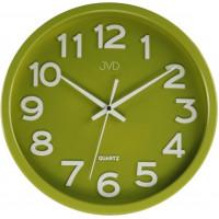 Hodiny JVD HX2413.4, zelené  30cm