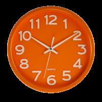 Hodiny JVD HX2413.6, oranžové  30cm