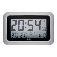 Rádiom riadené digitálne hodiny s budíkom JVD RB36.2, 28cm