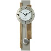Dizajnové kyvadlové nástenné hodiny JVD NS18059/78, 60cm