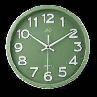 Hodiny JVD HX2413.12 zelené 30cm