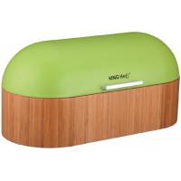 Chlebník Kinghoff design, zelený, 39cm