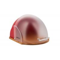 Chlebník Kinghoff design, KH212, červený