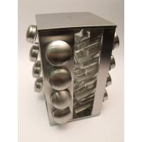Nerezový stojan na koreničky, Kinghoff, 17-dielný, 4007