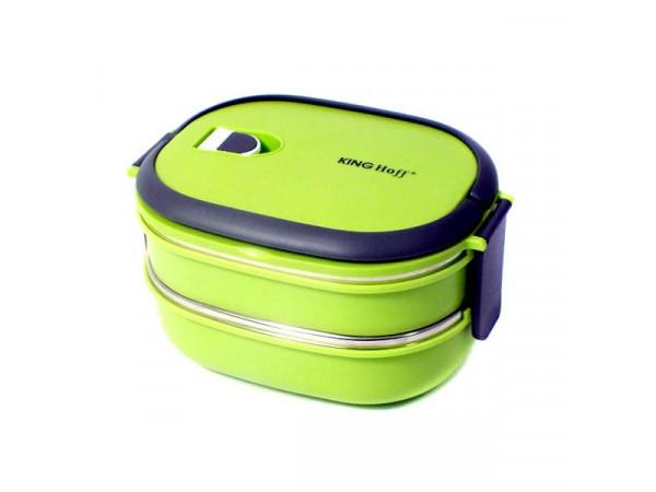 Box na jedlo KingHoff KH1129, 1480ml, zelený