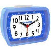 Modrý detský budík CLOCKODILE WAKE UP! BELL CAT2010