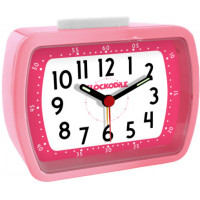 Ružový detský budík CLOCKODILE WAKE UP! BELL CAT2011